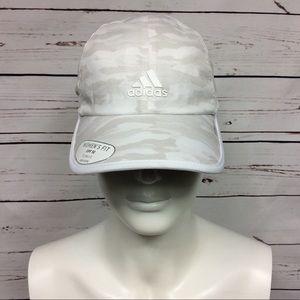 NWOT [Adidas] White/Gray Camo Baseball Cap